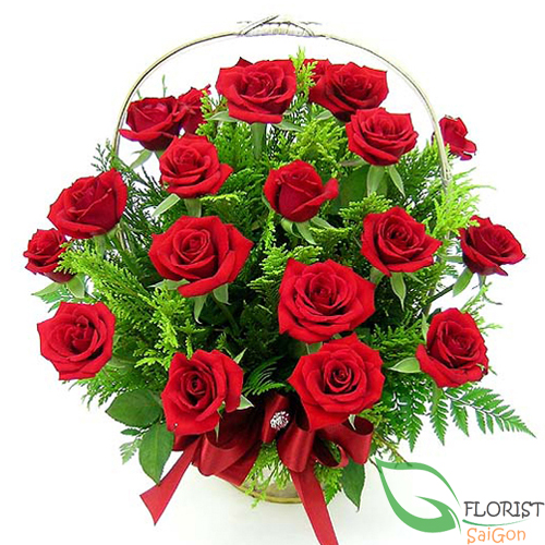 Birthday flowers with red roses free delivery