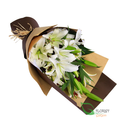 Bouquet of lily arrangements FREE SHIPPING