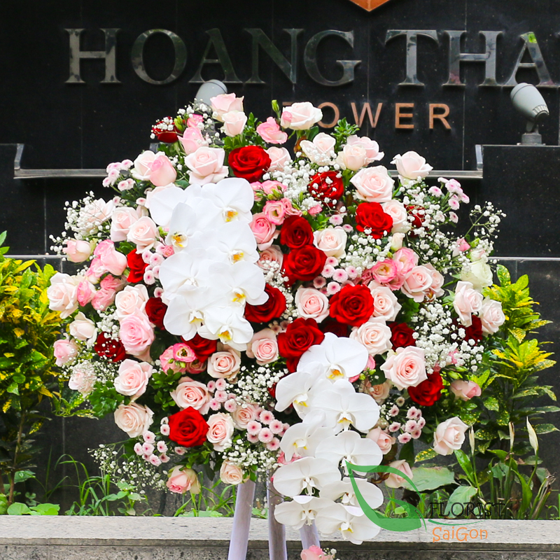 Best flowers for grand opening
