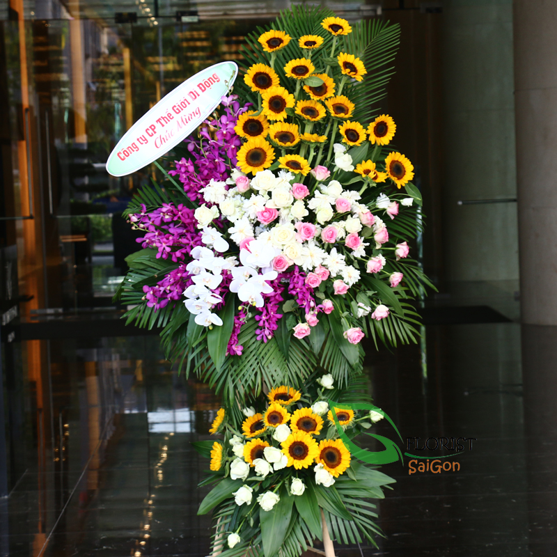 Free delivery Opening Congratulations flowers in HCM Vietnam
