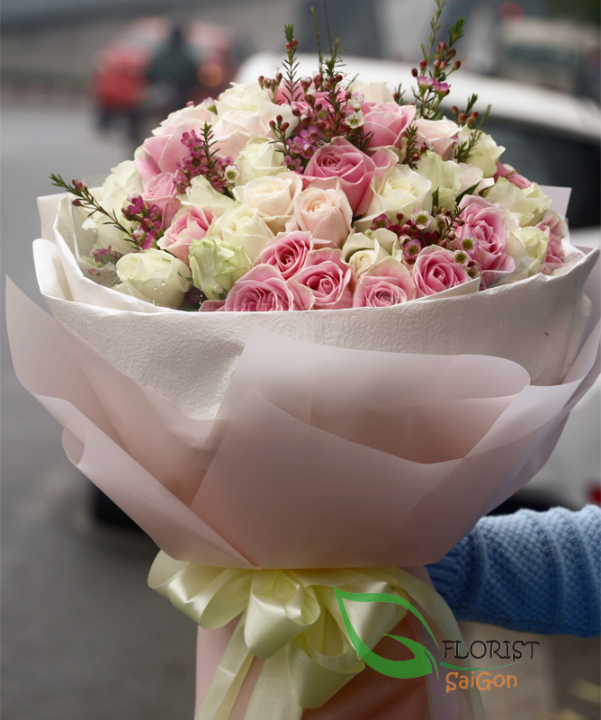 Send beauty bouquet to Saigon