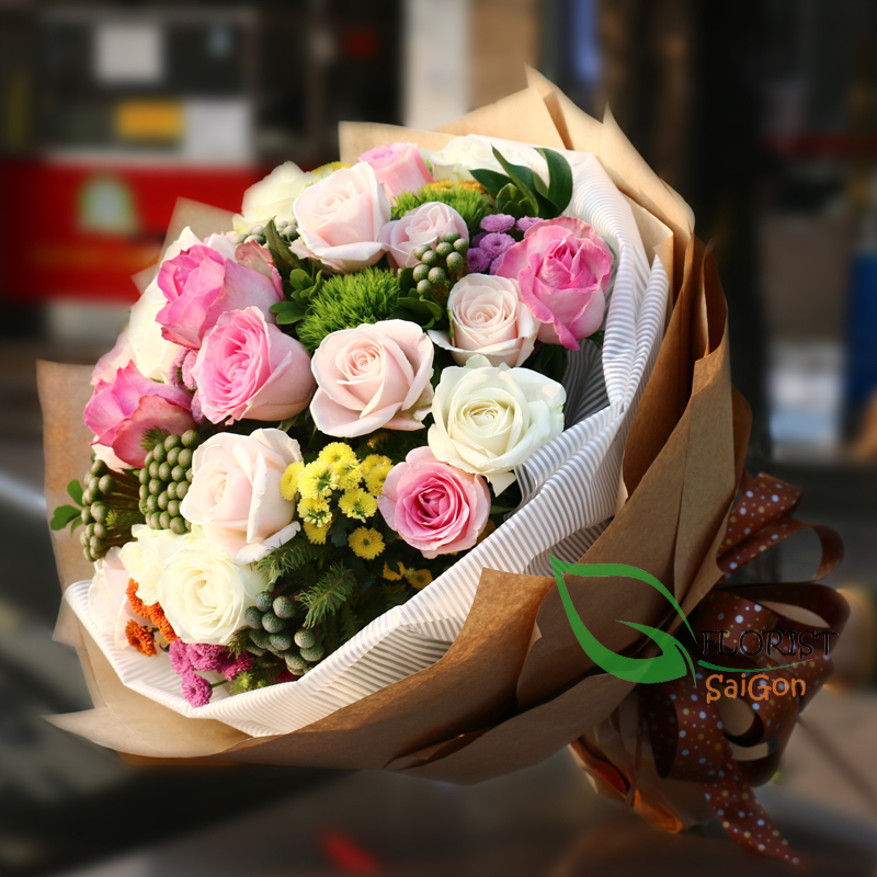 Saigon birthday flowers home free delivery