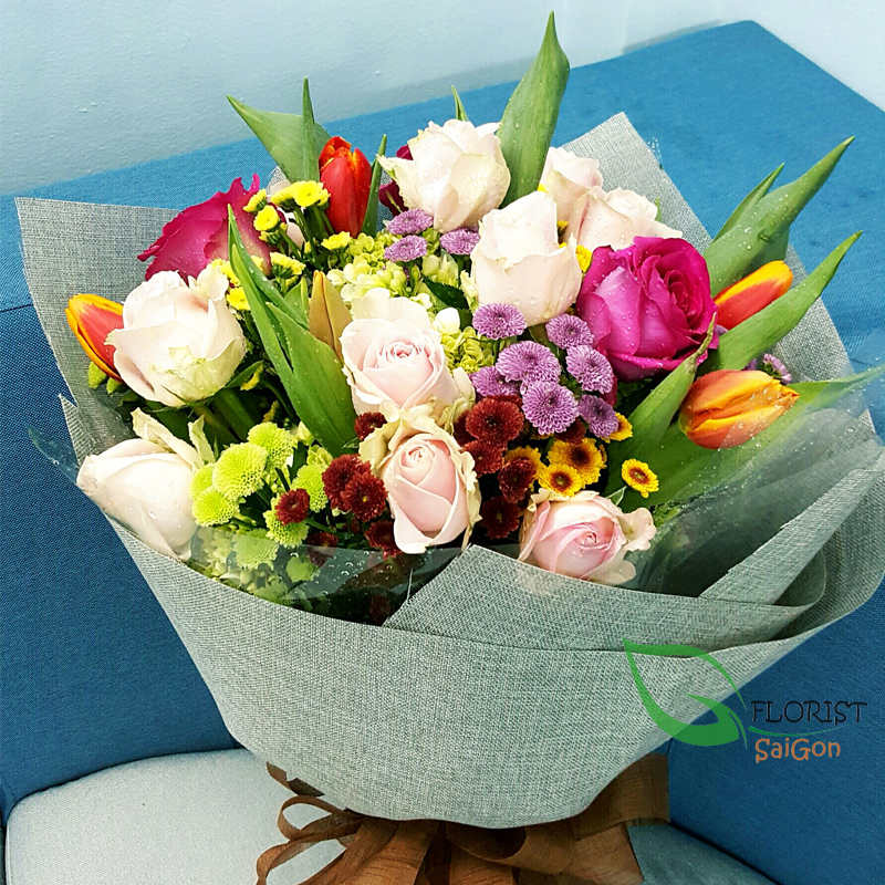 Saigon birthday flowers meaning free delivery