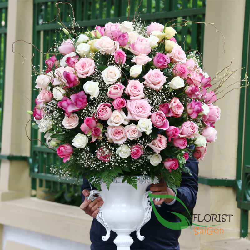 Saigon luxury flowers free delivery