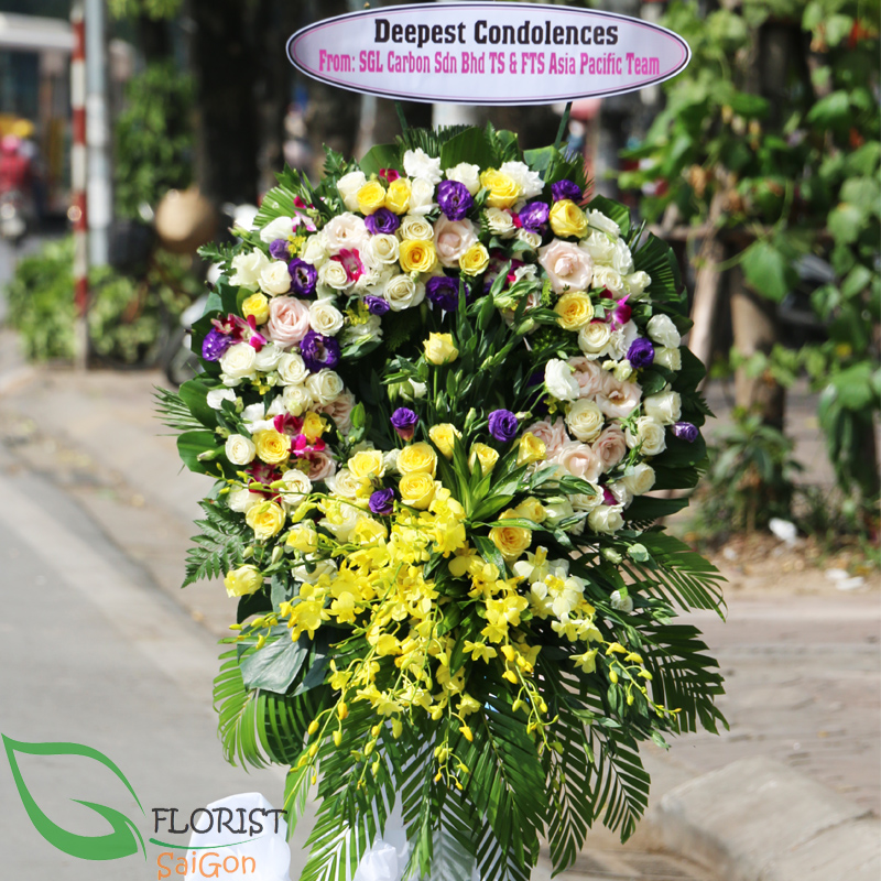 Saigon sympathy flowers delivery