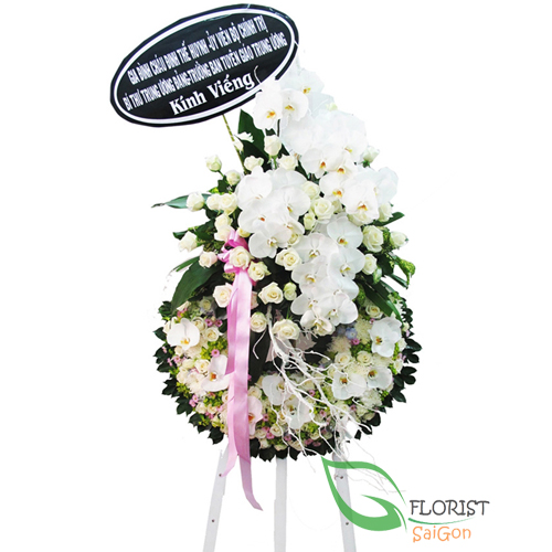 Saigon sympathy flowers delivery same day FLORIST