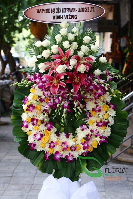 Send sympathy flowers to saigon city