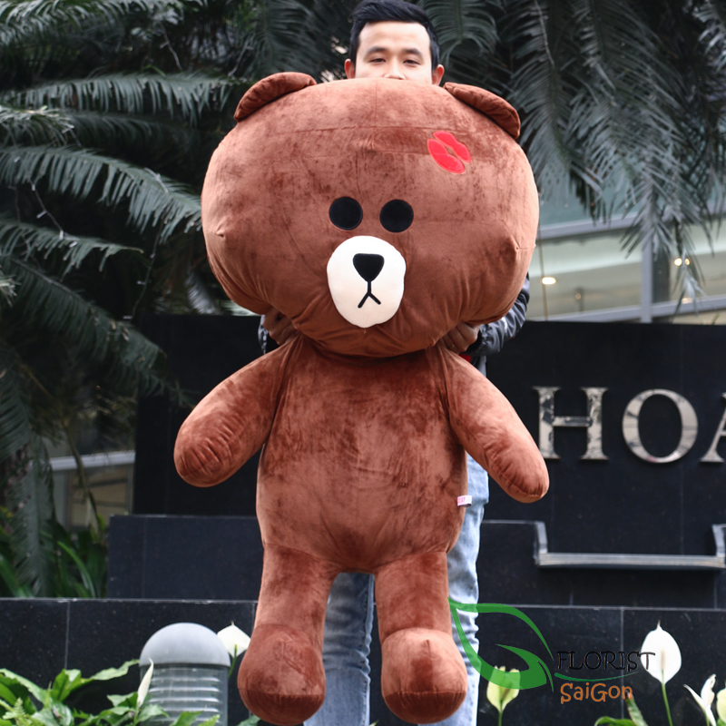 Send Teddy bear brown to Saigon